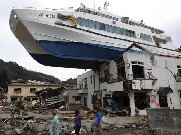 barco11 (Foto: Yomiuri Shimbun/AP)