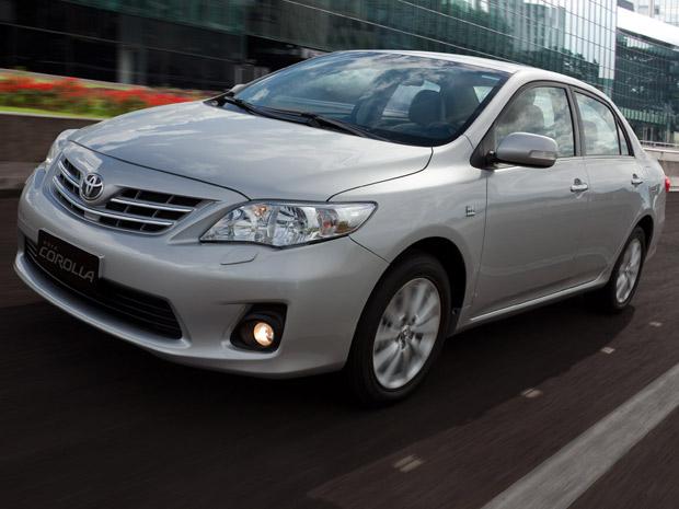 Toyota Corolla 2012 (Foto: Divulgação)