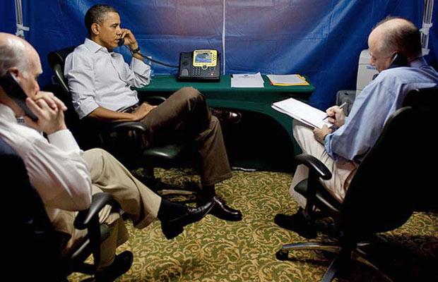 O local é um dos mais seguros do mundo para conversas confidenciais (Foto: Pete Souza )