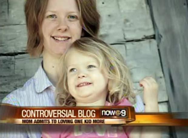 Mãe provocou polêmica ao dizer que amava mais um dos filhos. (Foto: Reprodução)