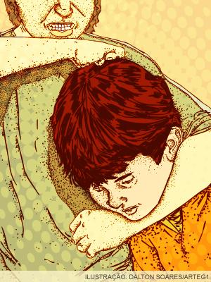 Ilustração bullying (Foto: Editoria de Arte/G1)