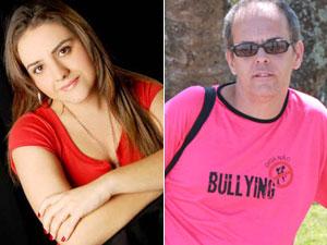 Camila Iuspa escreveu livro sobre o bullying e Mar' Júnior criou peça de teatro para tratar do tema nas escolas (Foto: Divulgação)
