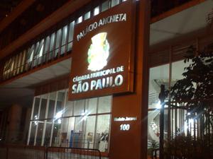 Câmara de SP (Foto: Roney Domingos/ G1)