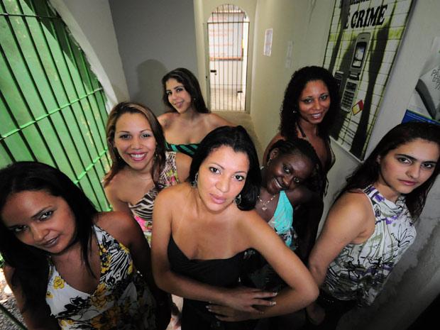 Sete das 12 candidatas ao título já estão no Recife (Foto: Paulo Almeida/Seres/Divulgação)