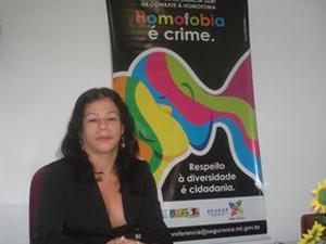 Lilith Prado, presidente da Associação dos Travestis de Mato Grosso (Foto: Arquivo pessoal)