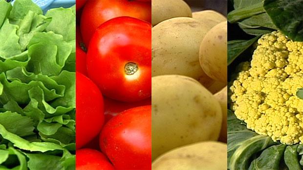 Orgânicos possuem mais nutrientes do que alimentos convencionais (Foto: Rede Globo)