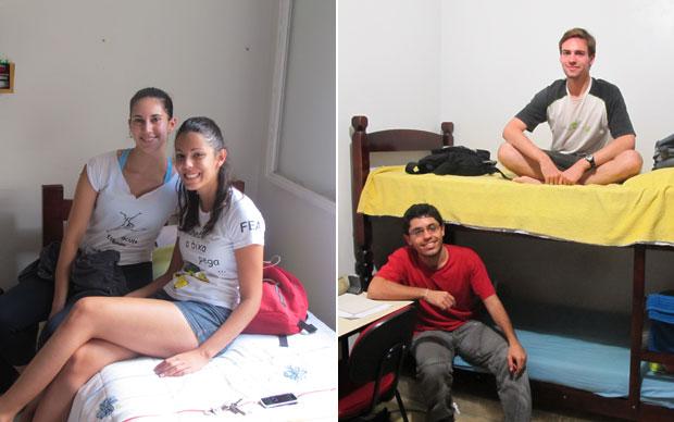 Quartos das meninas e dos meninos (Foto: Vanessa Fajardo/G1)