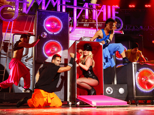 Britney Spears faz show surpresa em Las Vegas (Foto: AP)
