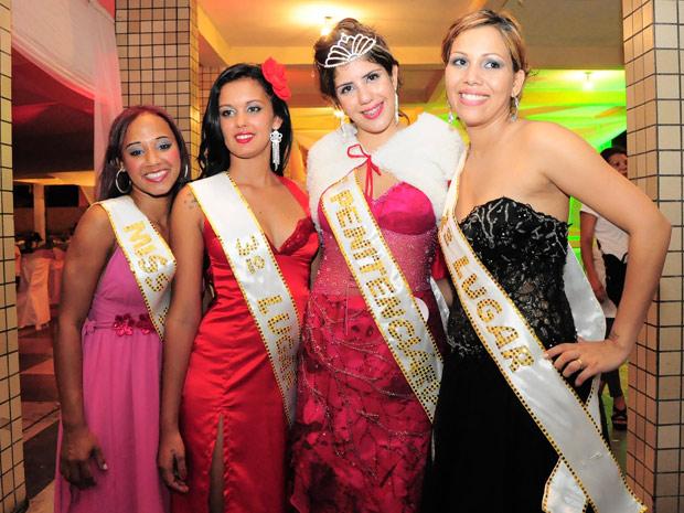 Concurso também elegeu Soriana Maria da Silva (esq.) como Miss Simpatia (Foto: Divulgação/Paulo Almeida/Seres)
