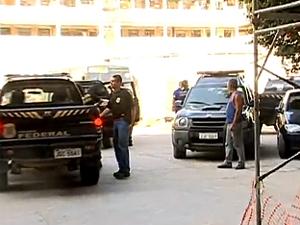 Operação aconteceu nos municípios do Rio, Itaguaí e Angra dos Reis (Foto: Reprodução / TV Globo)