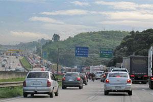 rodoanel trânsito (Foto: Juliana Cardilli/G1)