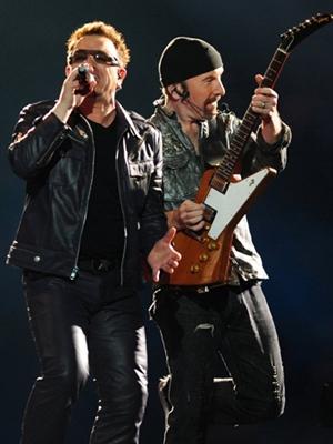 Bono e The Edge (Foto: AFP)