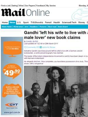 gandhi (Foto: Reprodução)