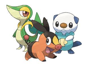 Novos Pokémon (Foto: Divulgação/Nintendo)