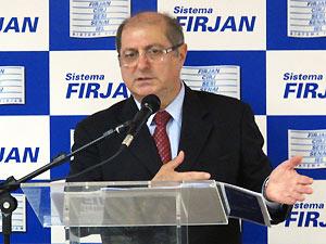 O ministro das Comunicações, Paulo Bernardo, fala sobre a banda larga no Brasil. (Foto: Bernardo Tabak/G1)