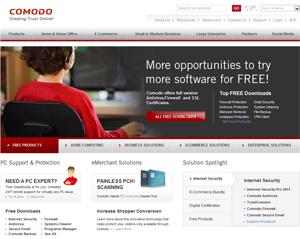 Parceira italiana da Comodo, que vende produtos e certificados de segurança, foi comprometida (Foto: Reprodução)
