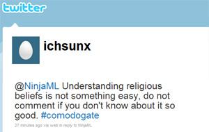 Perfil no Twitter do hacker que assumiu a responsabilidade pelo ataque (Foto: Reprodução)