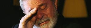 Em Portugal, Lula se emociona e chora ao falar da morte de Alencar (Beto Barata/AE)