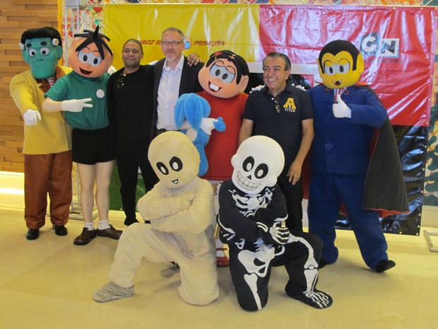 Evento no qual foi anunciada a criação da Mauricio de Sousa Digital Productions (Foto: Maria Angélica Oliveira/G1)