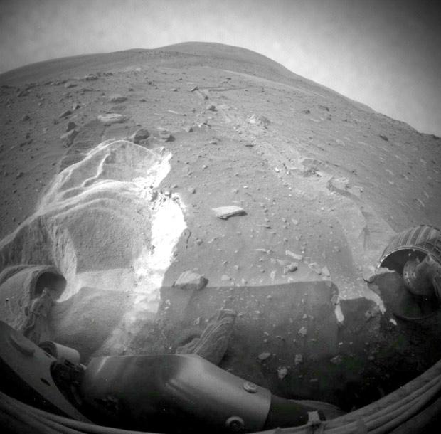 Após 1 ano de 'hibernação', Nasa começa a desistir do veículo Spirit Spiritnasa3