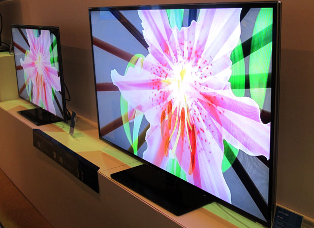 TV inteligente da Samsung, smarTV (Foto: Laura Brentano/G1)