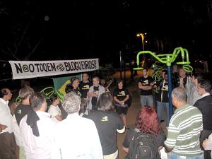 Após crime, blogueiros criaram movimento para alertar a sociedade (Foto: Rodrigo Vianna / G1)