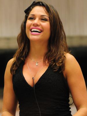Maria, em momento do anúncio de sua vitória no 'BBB 11'. (Foto: Divulgação/TV Globo)
