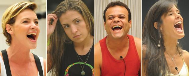 Diana, Natália, Daniel e Talula (Foto: Divulgação/TV Globo)