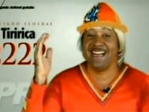 Música de Tiririca é alvo de processo judicial (Foto: Reprodução / GloboNews)