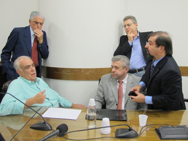 Corregedores da Câmara de Sp decidiram sobrestar processo (Foto: Roney Domingos/ G1)
