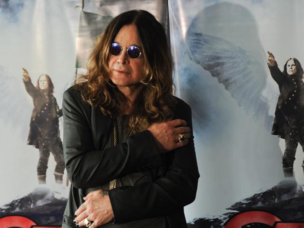 O cantor Ozzy antes da entrevista coletiva para jornalistas em São Paulo nesta sexta-feira (1) (Foto: Flavio Moraes/G1)