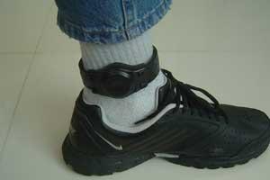 tornozeleira (Foto: SAP-SP/divulgação)