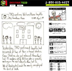 Site Destructiod (Foto: Reprodução)