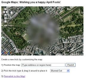 Google Eatrh Brincadeira (Foto: Reprodução)