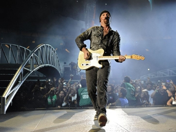 The Edge (Foto: AFP)