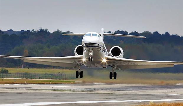 Modelo G650 similar ao que caiu (Foto: Reprodução/Gulfstream.com)