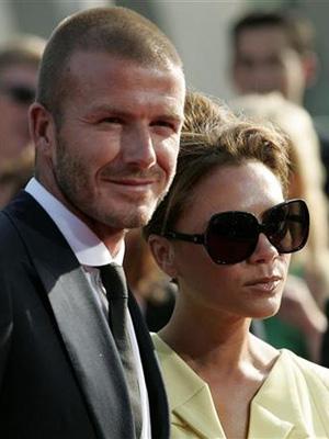David e Victoria Beckham (Foto: Reuters)