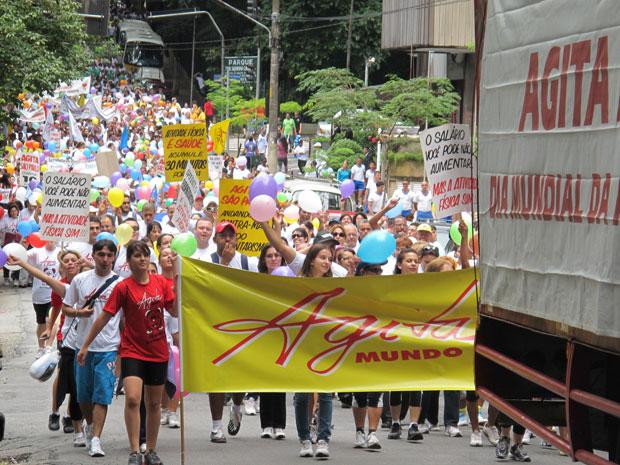Agita SP (Foto: Vanessa Fajardo/G1)