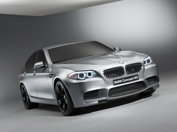 BMW M5 Concept é praticamente a versão final da quinta geração do modelo  (Foto: Divulgação)