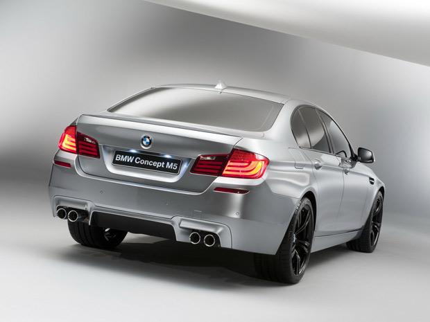 BMW M5 Concept será apresentado no Salão de Xangai (Foto: Divulgação)