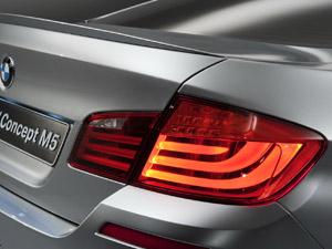 BMW M5 Concept explora uso de LEDs nas lanternas (Foto: Divulgação)