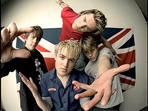 A banda inglesa McFly (Foto: Divulgação)