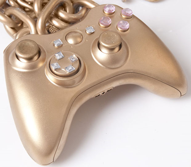 Controle Xbox de ouro (Foto: Divulgação)