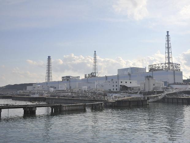 Foto da usina de Fukushima Daiichi em 1º de abril mostra os reatores 1, 2, 3 e 4. A imagem foi divulgada pelo Ministério da Defesa do Japão (Foto: Reuters)