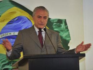 O vice-presidente Michel Temer, em imagem do último dia 29 de março (Foto: José Cruz  / Agência Brasil)
