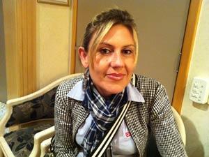 Bancária Michele Correia criticou repasse dos planos (Foto: G1)