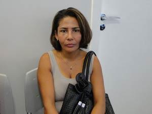 Paciente em Belo Horizonte (Foto: Pedro Triginelli/G1)