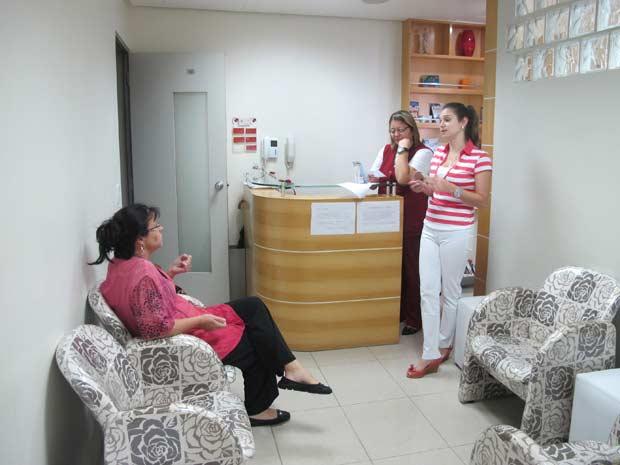 Consultório médico em São Paulo (Foto: Juliana Cardilli/G1)