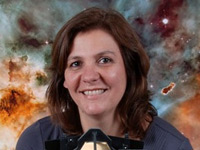 Duilia de Mello, astrônoma (Foto: Tommy Wiklind)
