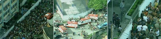 Tiros em escola deixam 8 mortos no Rio (Tiros em escola deixam 8 mortos no Rio (Homem atira em alunos em escola do Rio (Homem atira em alunos em escola do Rio (Homem atira em alunos em escola do Rio (Reprodução/Globo News)))))
